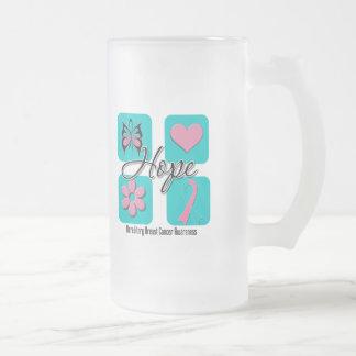 Hope Love Inspire Hereditary Breast Cancer Mug