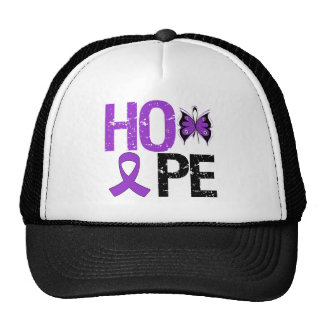 Hope Lupus Awareness Mesh Hats