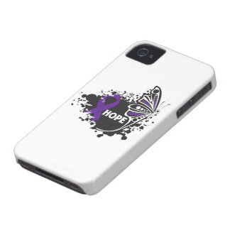 Hope Lupus Butterfly iPhone 4 Case