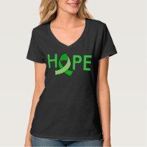 """""""HOPE"""" Lyme Disease Awareness Ribbon T-Shirt"""