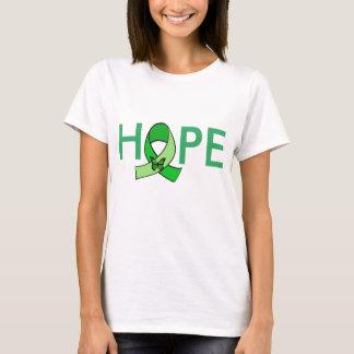 """HOPE"" Lyme Disease Awareness Ribbon w Butterfly T-Shirt"