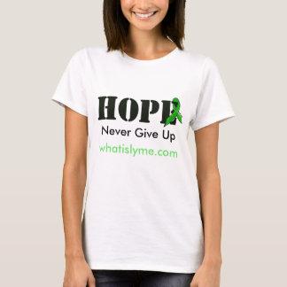 """'Hope"""" Lyme Disease Awareness Shirt w Ribbon"""