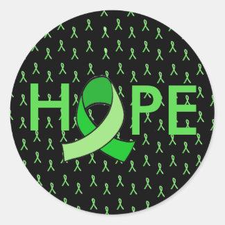 HOPE Lyme Disease Ribbon Sticker