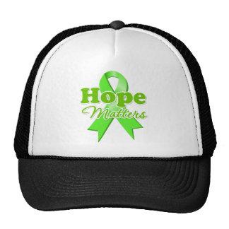 Hope Lymphoma Hats