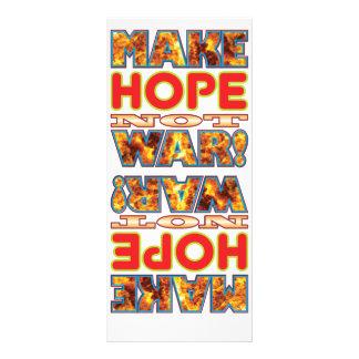 Hope Make X Rack Card Template