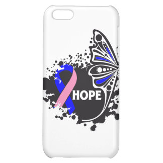 Hope Male Breast Cancer Butterfly iPhone 5C Case