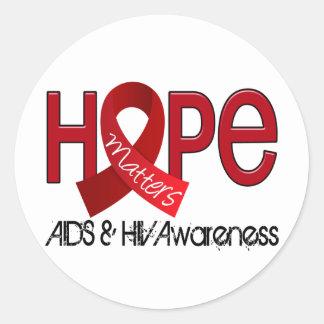 Hope Matters 2 AIDS Sticker