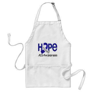 Hope Matters 2 ALS Apron