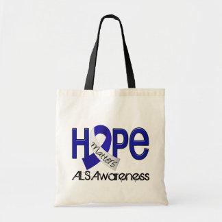 Hope Matters 2 ALS Canvas Bags