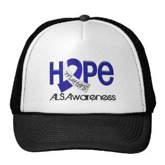 Hope Matters 2 ALS Hat