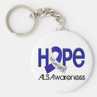 Hope Matters 2 ALS Key Chains