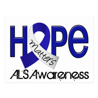 Hope Matters 2 ALS Post Card
