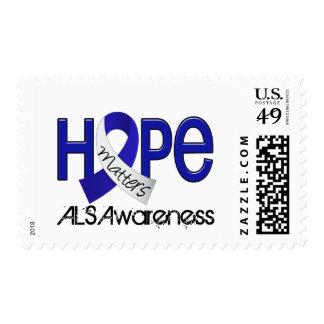 Hope Matters 2 ALS Postage Stamp