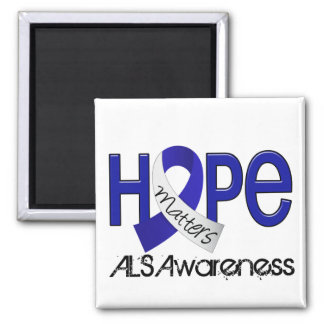 Hope Matters 2 ALS Refrigerator Magnet