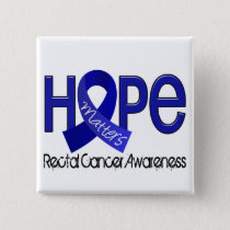 Hope Matters 2 Anal / Rectal Cancer Button