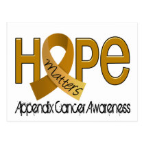 Hope Matters 2 Appendix Cancer Postcard
