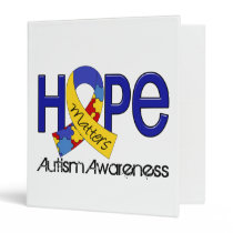 Hope Matters 2 Autism Binder