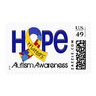 Hope Matters 2 Autism Postage