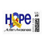Hope Matters 2 Autism Postage Stamp
