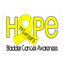 Hope Matters 2 Bladder Cancer Postcard