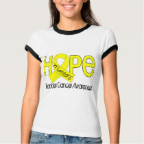 Hope Matters 2 Bladder Cancer T-Shirt