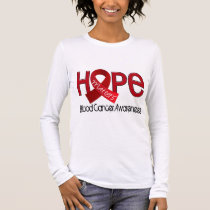 Hope Matters 2 Blood Cancer Long Sleeve T-Shirt