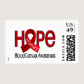 Hope Matters 2 Blood Cancer Postage