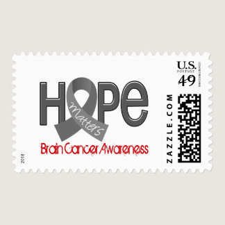 Hope Matters 2 Brain Cancer Postage