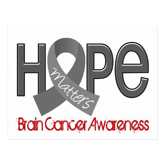 Hope Matters 2 Brain Cancer Postcard