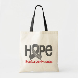 Hope Matters 2 Brain Cancer Tote Bag