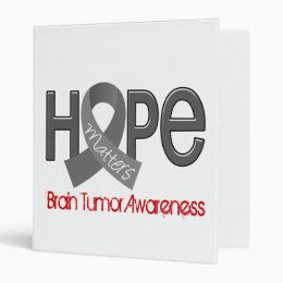 Hope Matters 2 Brain Tumor Binder