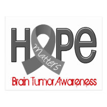 Hope Matters 2 Brain Tumor Postcard