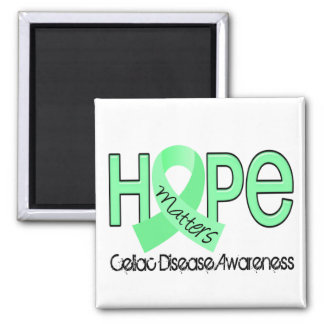 Hope Matters 2 Celiac Disease 2 Inch Square Magnet