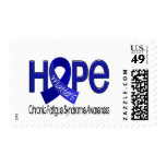 Hope Matters 2 CFS Chronic Fatigue Syndrome Postage Stamps