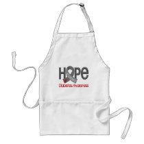Hope Matters 2 Diabetes Adult Apron
