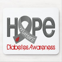 Hope Matters 2 Diabetes Mouse Pad