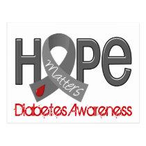 Hope Matters 2 Diabetes Postcard