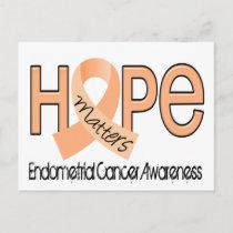 Hope Matters 2 Endometrial Cancer Postcard