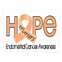 Hope Matters 2 Endometrial Cancer Postcard