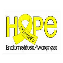 Hope Matters 2 Endometriosis Postcard