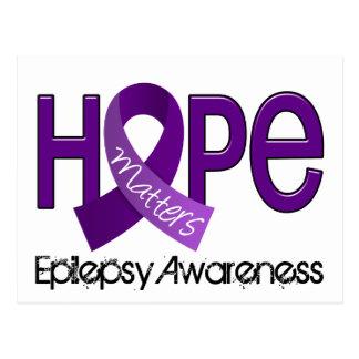 Hope Matters 2 Epilepsy Postcard