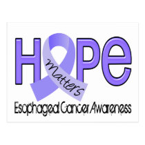 Hope Matters 2 Esophageal Cancer Postcard