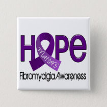 Hope Matters 2 Fibromyalgia Pinback Button