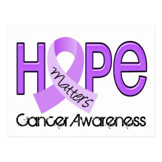 Hope Matters 2 General Cancer Postcard