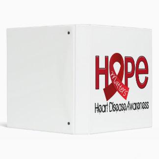 Hope Matters 2 Heart Disease 3 Ring Binder