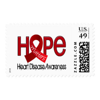 Hope Matters 2 Heart Disease Postage