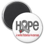 Hope Matters 2 Juvenile Diabetes Fridge Magnets