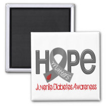 Hope Matters 2 Juvenile Diabetes Magnet