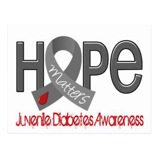 Hope Matters 2 Juvenile Diabetes Postcard