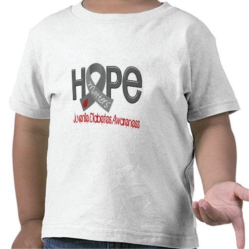 Hope Matters 2 Juvenile Diabetes Tees